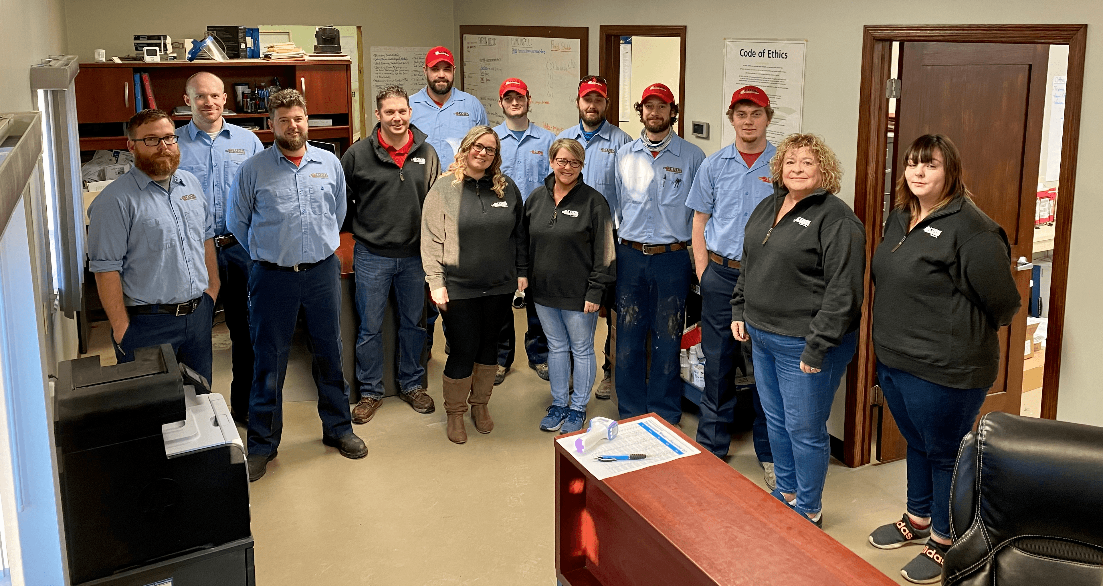 Cook Home Services Team